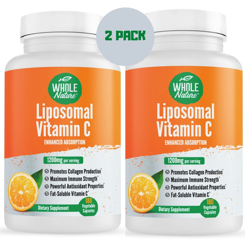 Whole Nature Liposomal Vitamin C 1200 mg
