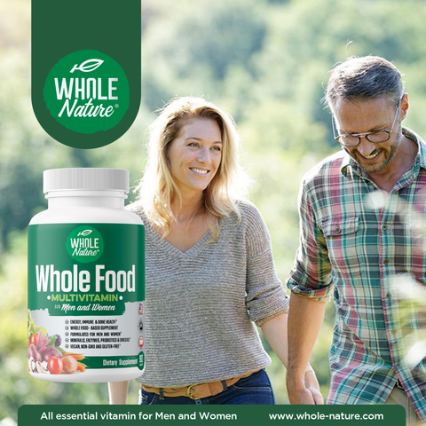 Whole Nature Whole Food Multivitamin For Men & Women