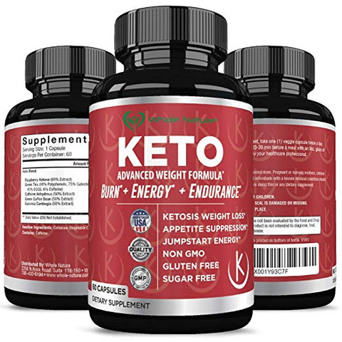 Whole Nature Keto Diet Pills - Whole Nature Vitamins & Supplements