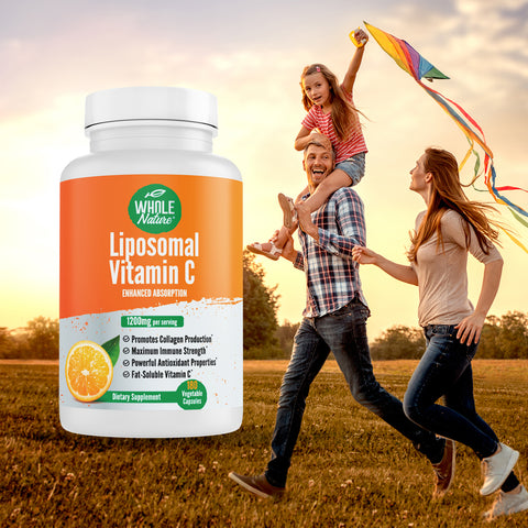 Whole Nature Liposomal Vitamin C  1200 mg - Whole Nature Vitamins & Supplements