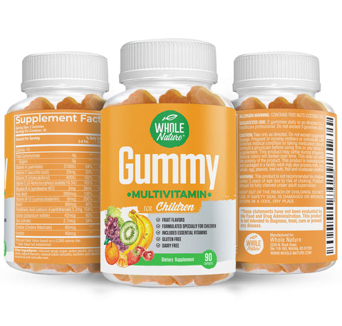 Whole Nature Children's Gummy Multivitamins - Whole Nature Vitamins & Supplements
