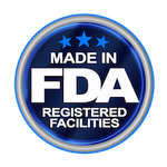 Image of Made in FDA Registered Facility