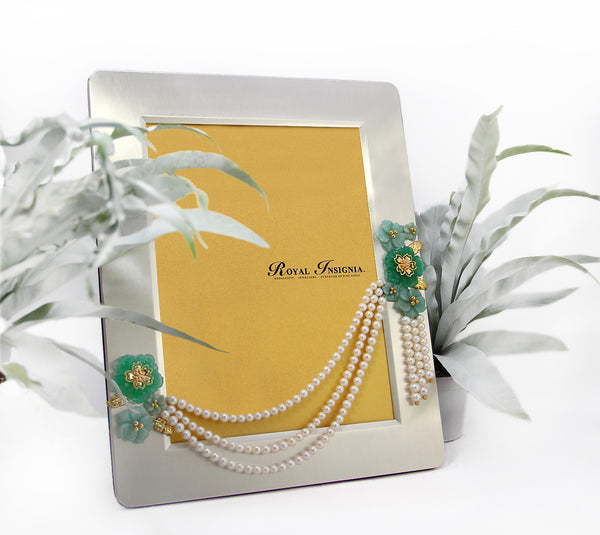 Alyssa II Silver Photo Frame ROYAL INSIGNIA