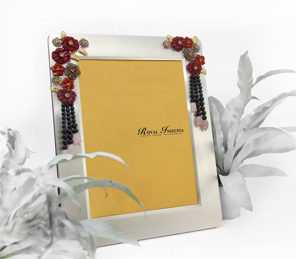 Nour Silver Photo Frame ROYAL INSIGNIA