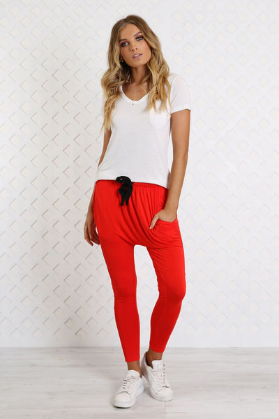 Tori Trackies - Red