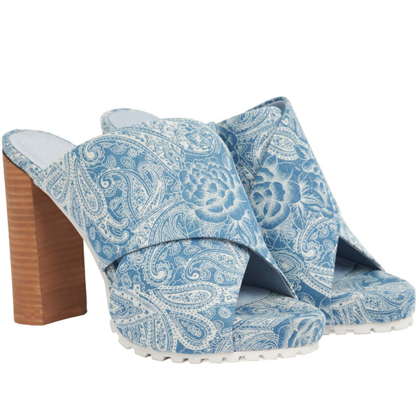 Anny Heel Chambray - SALE