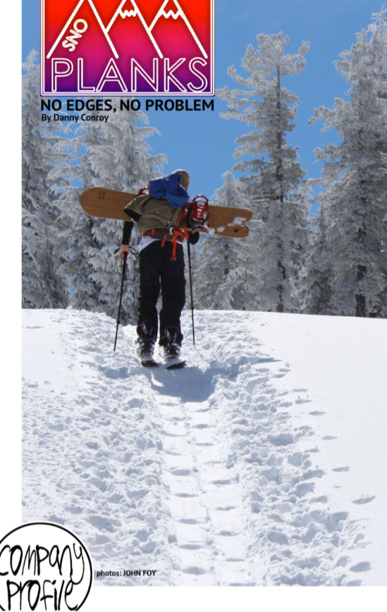 Heckler Magazine SnoPlanks Writeup