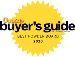 Award - Outside Buyers Guide Best Powder Board 2020