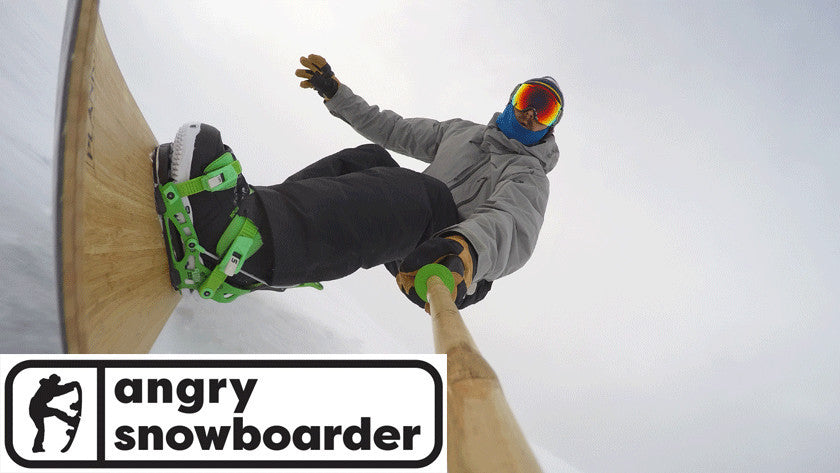 Angry Snowboarder
