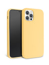 Pastel Yellow iPhone Case