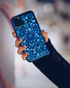 Cosmic Holographic Kaleidoscope iPhone Case