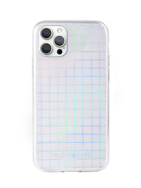 Holographic Grid iPhone Case