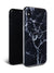 Black Polished Marble iPhone Case