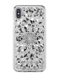 Silver Kaleidoscope iPhone Case