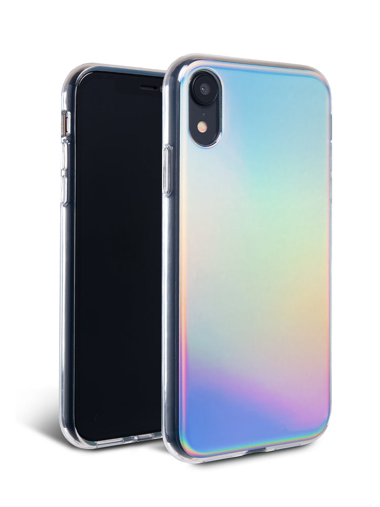 new style b1eb8 d0e6e Aura Holographic iPhone Case for X/XS Max, XR, 6/7/8, 6+/7+/8+