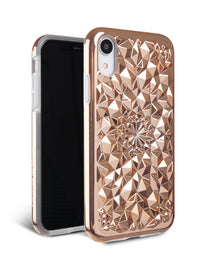 Gold Kaleidoscope iPhone Case