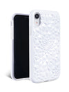 Gloss White Kaleidoscope iPhone Case