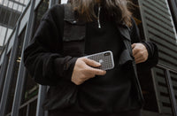 White Grid iPhone Case - SALE