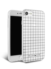 Felony Case Black Grid Case iPhone 8