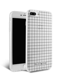 Felony Case Black Grid Case iPhone 8 Plus