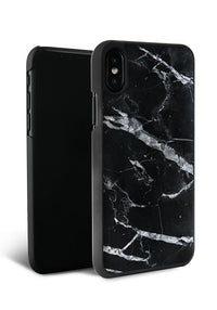 Felony Case Genuine Black Marble Case iPhone X