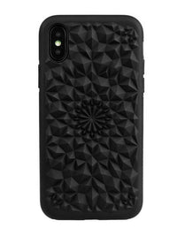 Felony Case Matte Black Kaleidoscope Case iPhone X / XP