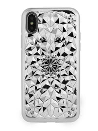 Felony Case Silver Kaleidoscope Case iPhone X / XP