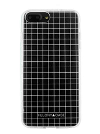Felony Case White Grid Case iPhone 6/6s Plus