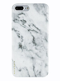 Felony Case White Polished Marble Case iPhone 7 Plus / Sleek