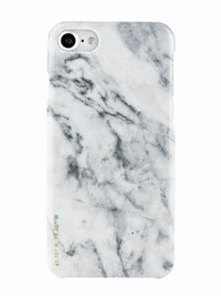 Felony Case White Polished Marble Case iPhone 7 / Sleek