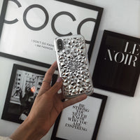 Silver Kaleidoscope iPhone Case - SALE