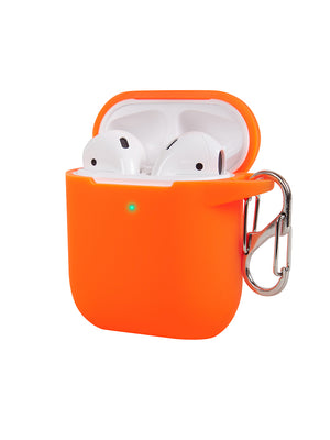 Neon Orange AirPods Case