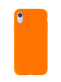 Neon Orange iPhone Case