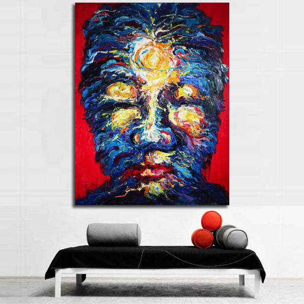 Self Emotion I, Original Painting by Worapol