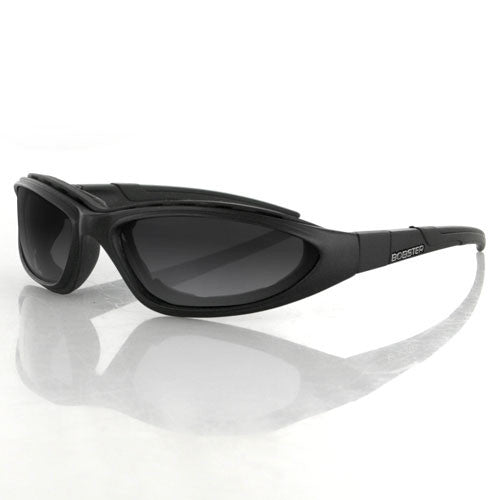 Bobster Blackjack 2 Convertible Sunglasses Blk Frame 3 Lens