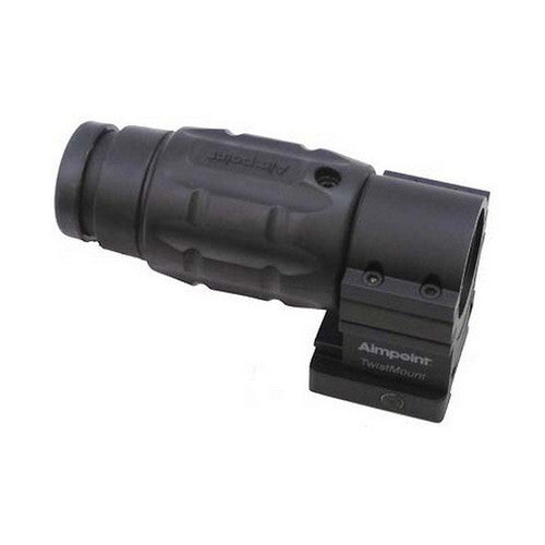Aimpoint Magnifier 30mm Tube 3x20mm with Twist Mount and Spacer Matte Black