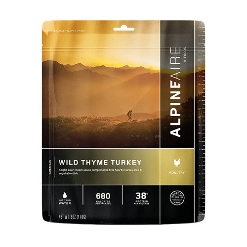 Alpine Aire Foods Wild Thyme Turkey Serves 2