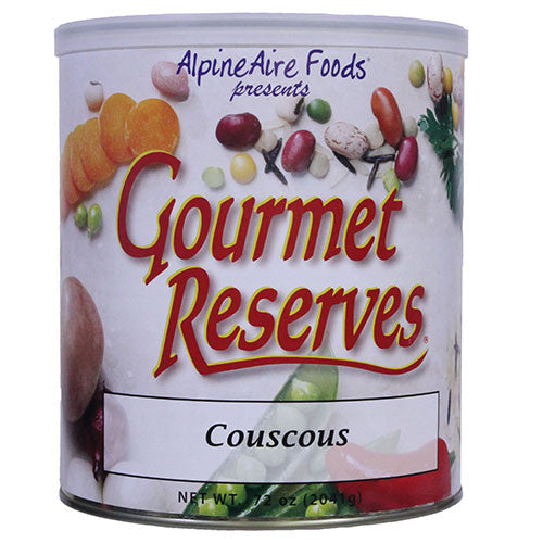 Alpine Aire Foods Cous Cous Pre-Cooked #10 Can