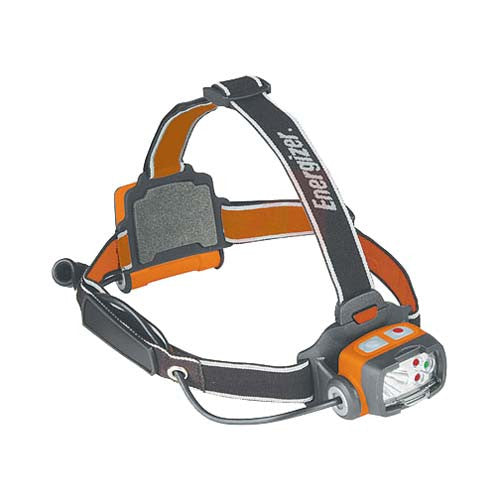 Energizer LED Headlamp 60 Lumens Orange/Gray