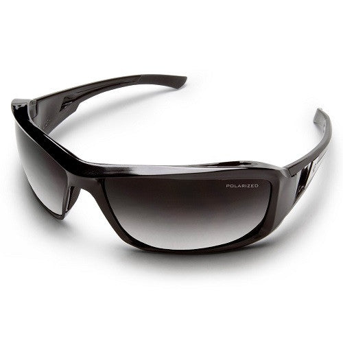 Edge Eyewear Brazeau Black Frame Polarized Gradient lens