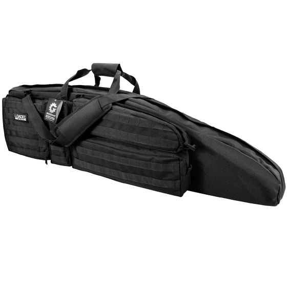 Barska Loaded Gear RX-400 48in Tactical Dual Rifle Bag-Black