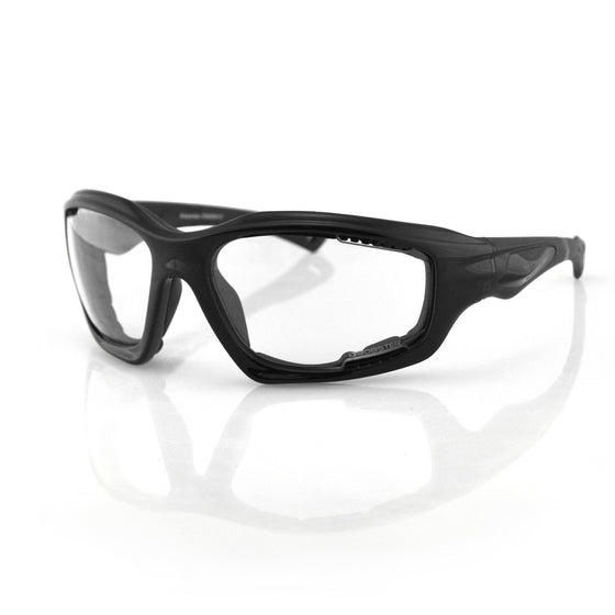 Bobster Desperado Sunglass-Black Frame-Anti-fog Lens