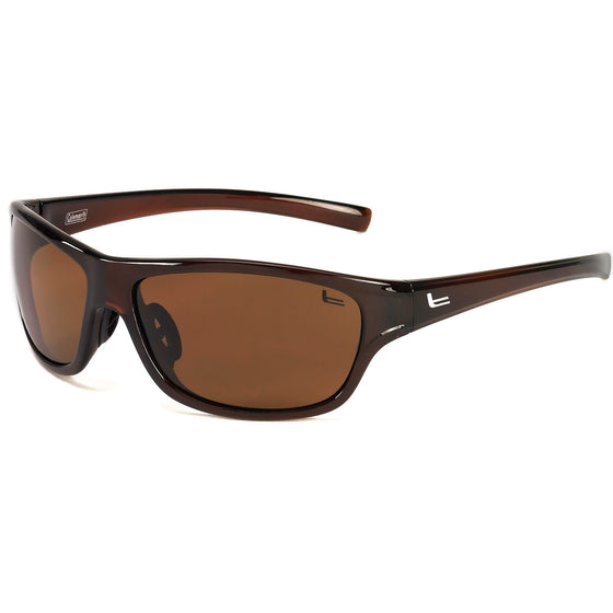 Coleman Dean-Transparent Dark Brown/Brown Lens