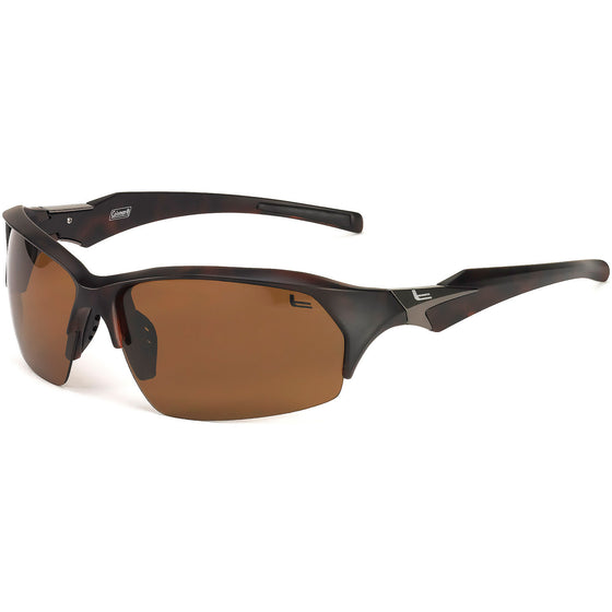 Coleman Windchaser-Dark Tortoise Shell/1.1mm Brown Lens