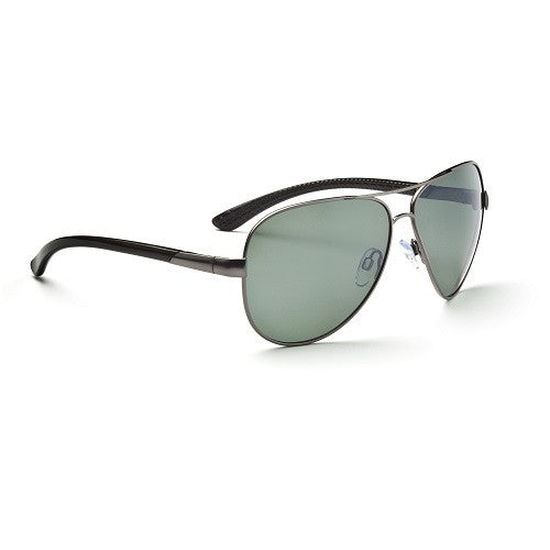 Optic Nerve Arsenal Polarized Wire Sunglasses Silver