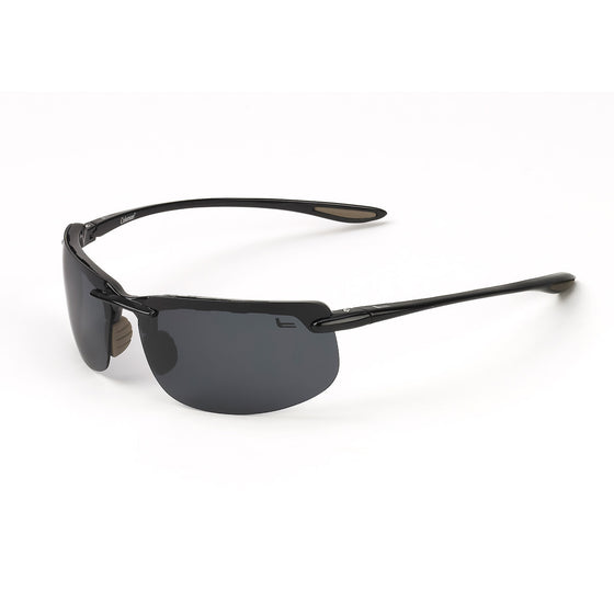 Coleman Vizor-Black with Black Tips/1.1mm Smoke Lens