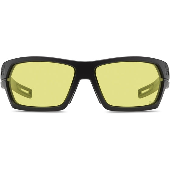 Under Armour Battlewrap Sunglasses Satin Black/ Yellow