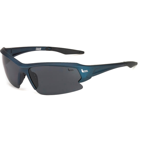 Coleman Streamliner-Matte Blue w/Black Tips/1.1mm Smoke Lens