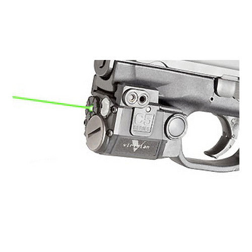 Viridian Green Lasers Universal SubCompact Green Laser w/Tactical Light 100 Lumens(140 Lumen Strobe)