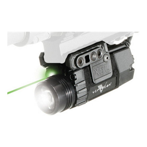Viridian Green Lasers Universal Mount Green Laser w/Tactical Light 160/190Lumens/Pressure Switch